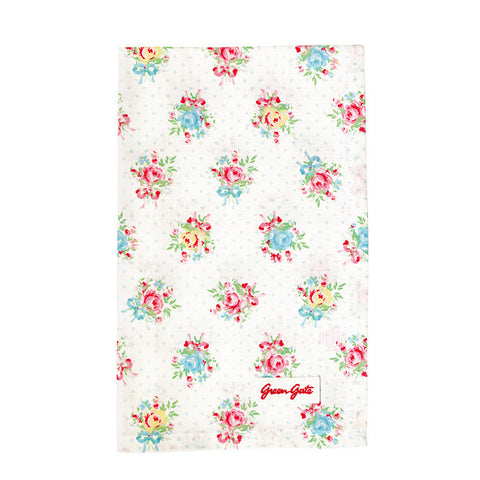 Tea towel Celine white