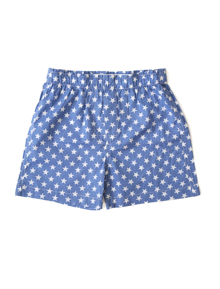 Boys Boxers - Blue Star