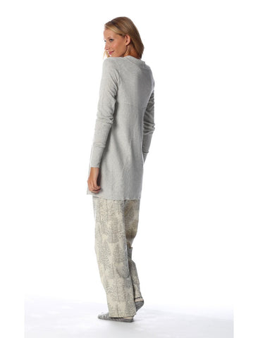 Cotton Cashmere Wrap - Grey Marl