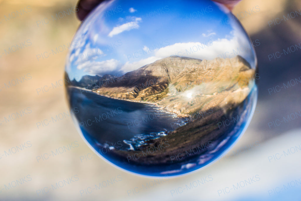 A Bubble's View Of A Beach