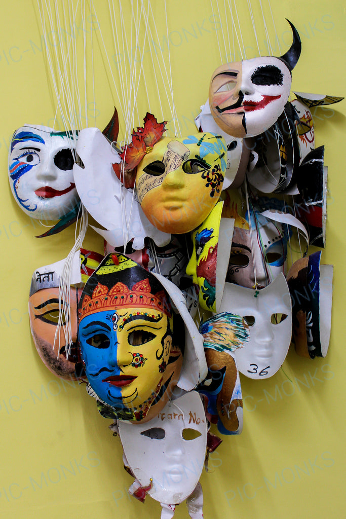 Life, A Collection Of Masks