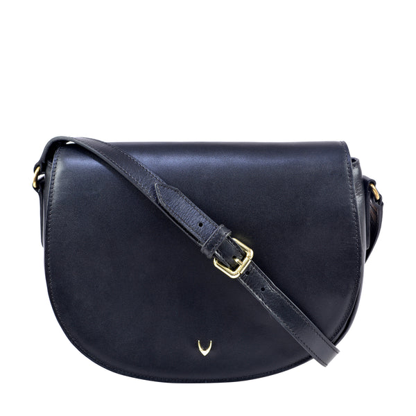 Nelly Classic Leather Crossbody Bag