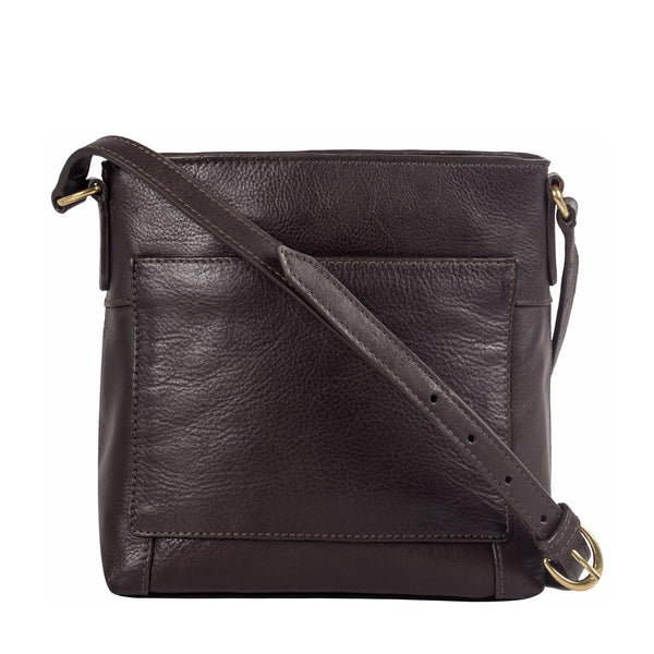 Sierra Small Leather Crossbody Bag