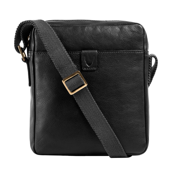 Drake Unisex Small Leather Crossbody