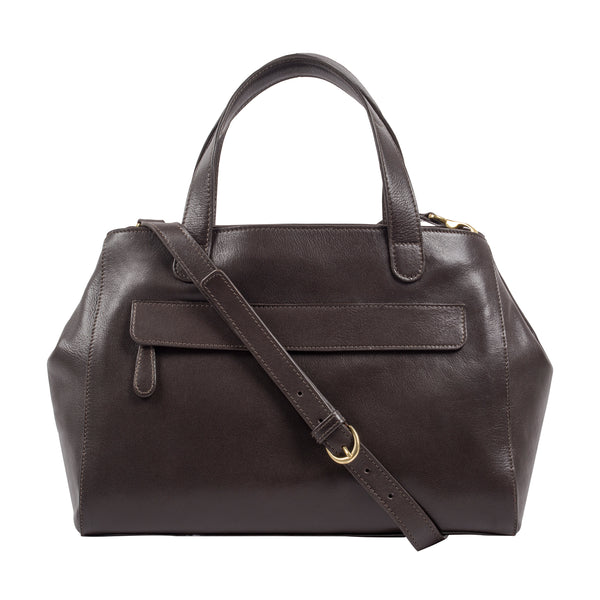 Ava Leather Satchel