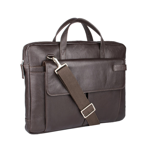Travolta Medium Leather Laptop Bag