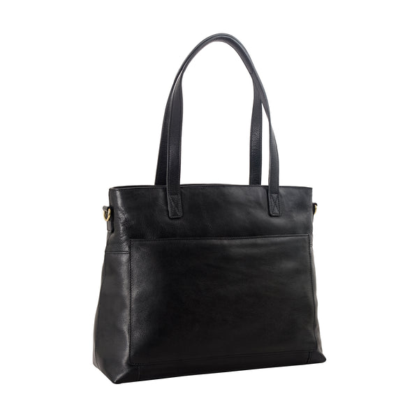 Sierra Leather Shoulder Bag with Sling Strap