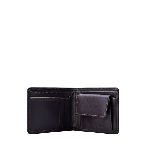 Cape RFID Blocking Leather Slim Bifold Wallet