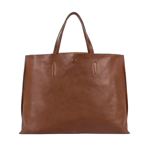 Isabelle Classic Large Leather Tote
