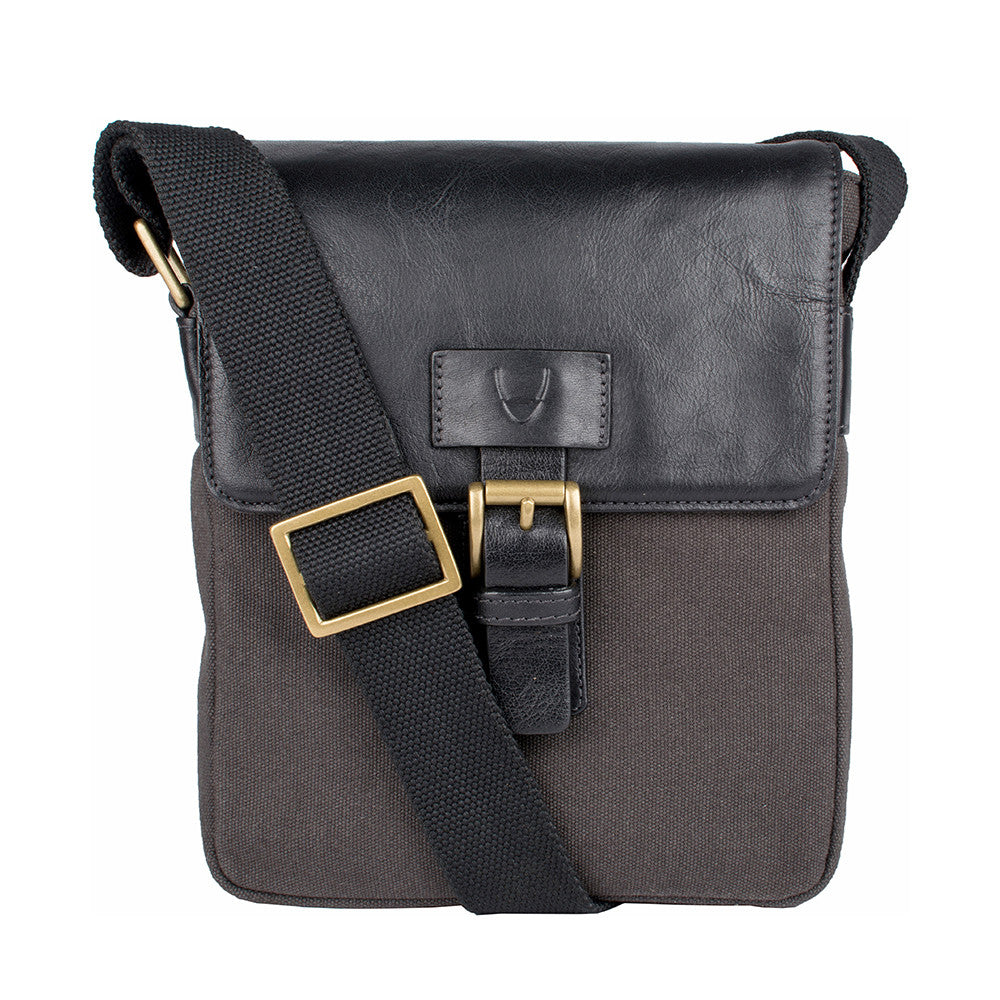Bedouin Canvas and Leather Crossbody