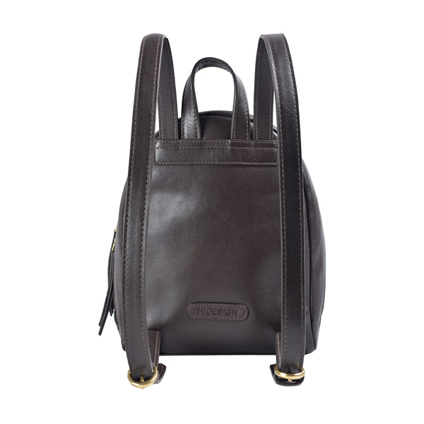 Kiwi Small Leather Backpack