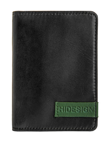Dylan Leather Slim Card Holder with ID Compartment