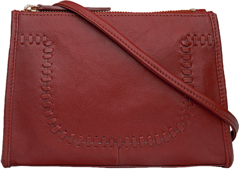 Mina Leather Cross body