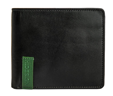 Dylan 04 Leather Slim Bifold Wallet