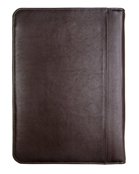 IMG iPad Leather Portfolio/Padfolio with Handmade Paper Notebook