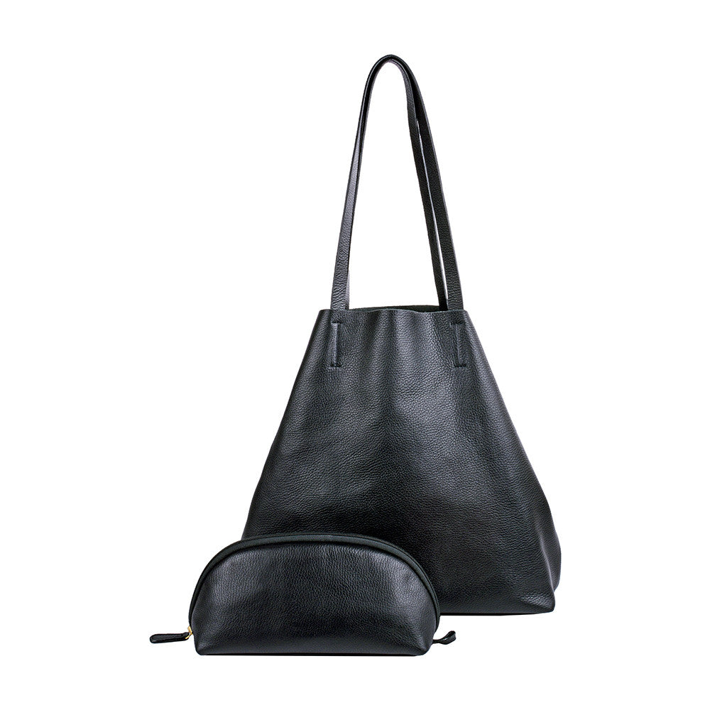 Audrey Soft Leather Tote Handbag