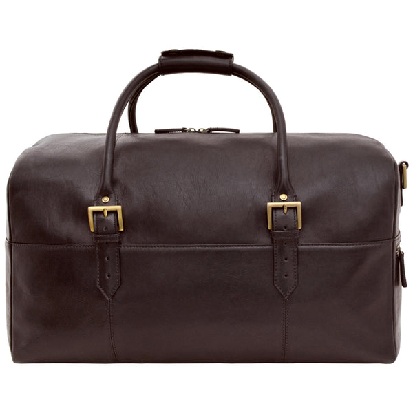 Charles Cabin Sized Leather Duffle