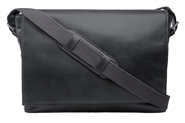 Cooper Horizontal Leather Messenger