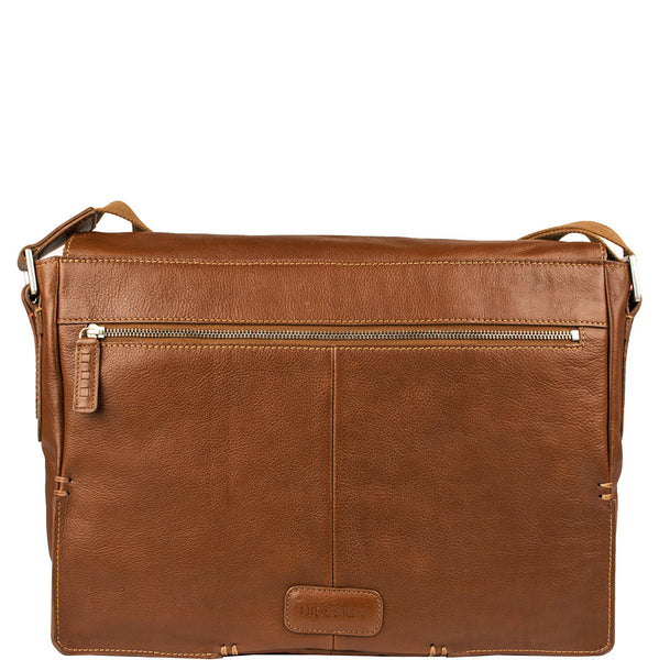 "Fred 15"" Laptop Compatible Messenger Bag"