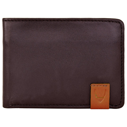 Dylan Slim Leather Trifold Wallet With Multi Compartments