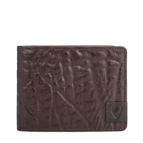 Elephant RFID Blocking Bifold Leather Wallet