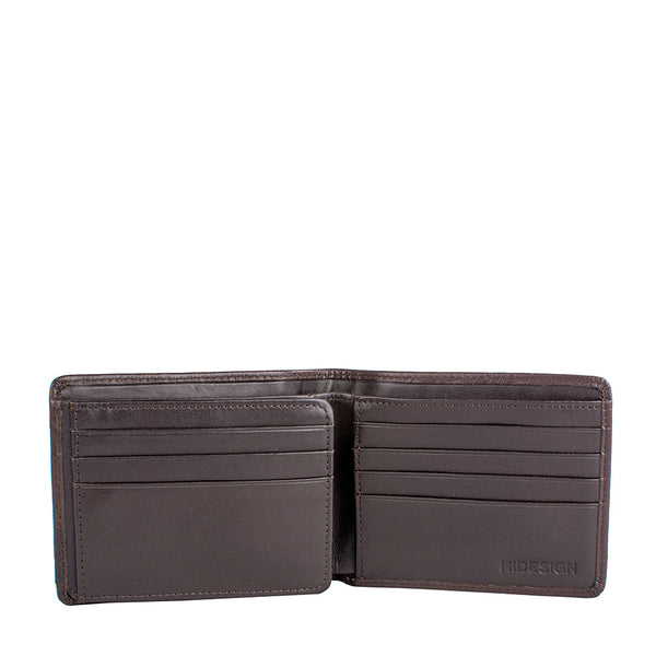 Elephant RFID Blocking Trifold Leather Wallet