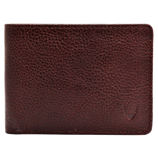 Giles Vegetable Tanned Leather Trifold Wallet With Multi Compartments