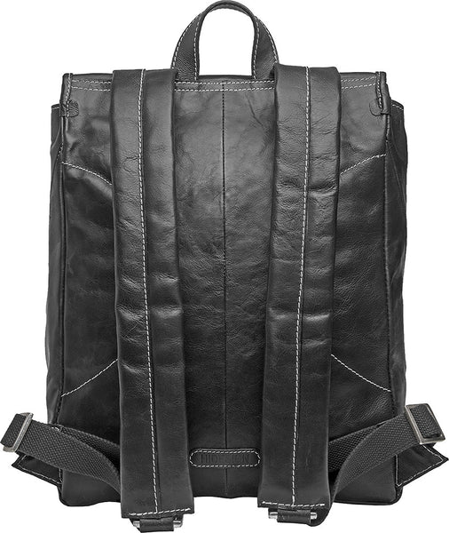 "Hector Large 17"" Laptop Compatible Leather Backpack"