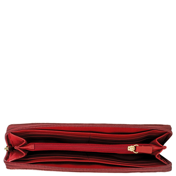 Cerys Zip Around Leather Wallet