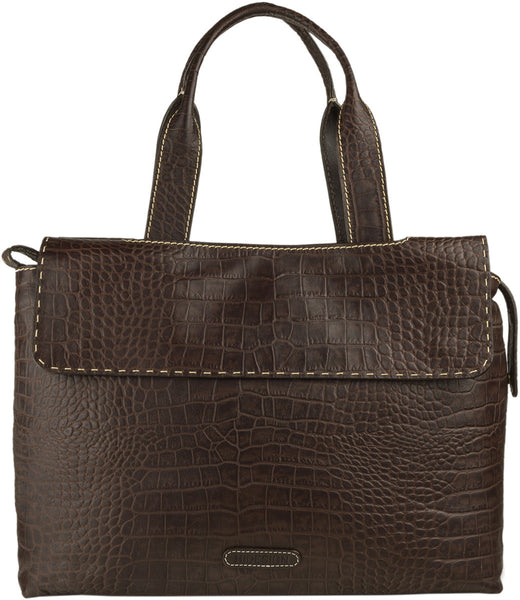 Women's Leather Laptop Work Bag