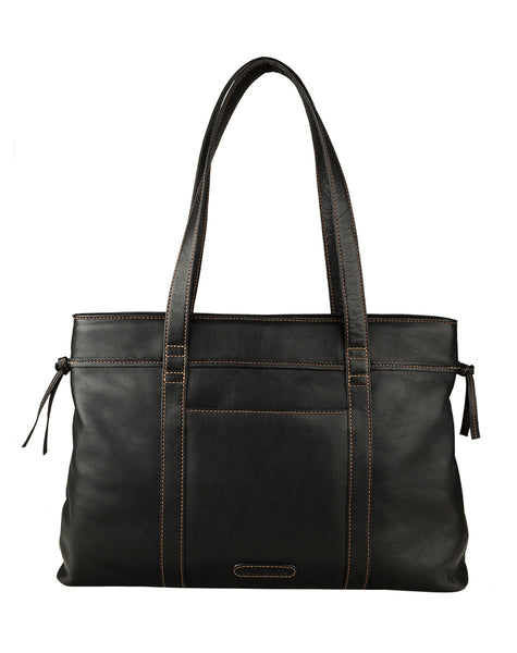 Mina Classic Leather Tote
