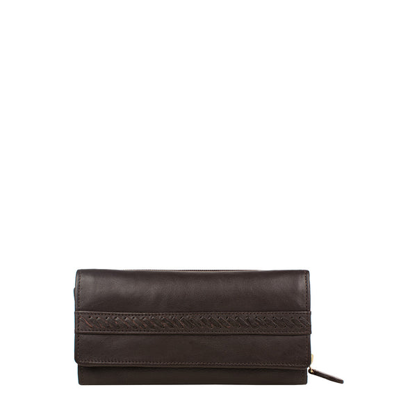 Mina Trifold Leather wallet