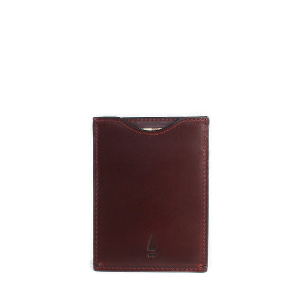 Gnome & Bow FIR CARD SLEEVE - Oxblood - Men's Online Shopping in Singapore | The Assembly Store - 1