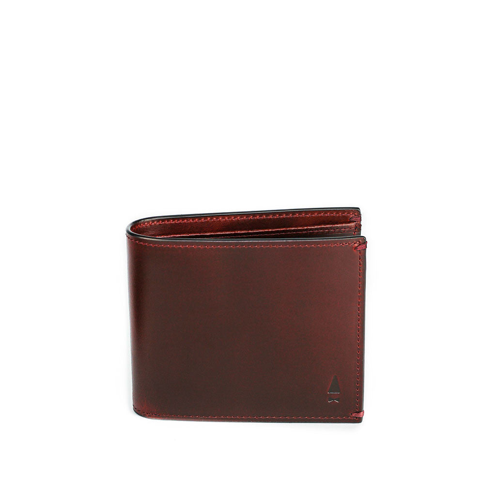 LINDEN COIN BILLFOLD - Oxblood
