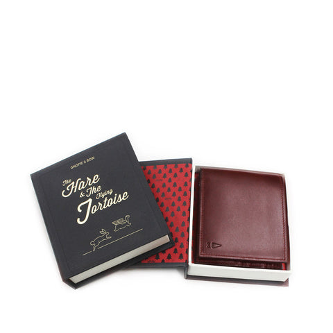 Gnome & Bow LINDEN COIN BILLFOLD - Oxblood - Men's Online Shopping in Singapore | The Assembly Store - 3