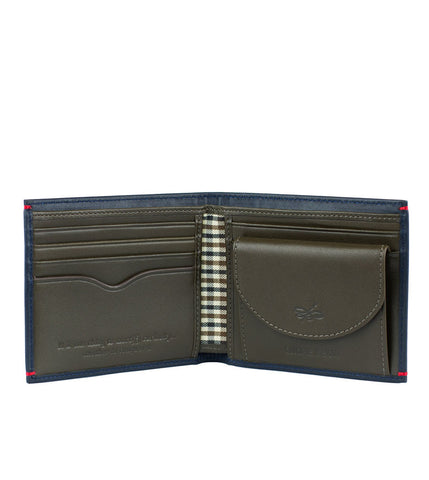Gnome & Bow Regent Coin Billfold Midnight Blue - Men's Online Shopping in Singapore | The Assembly Store - 2