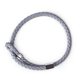 Wve Bracelet-Grey Leather