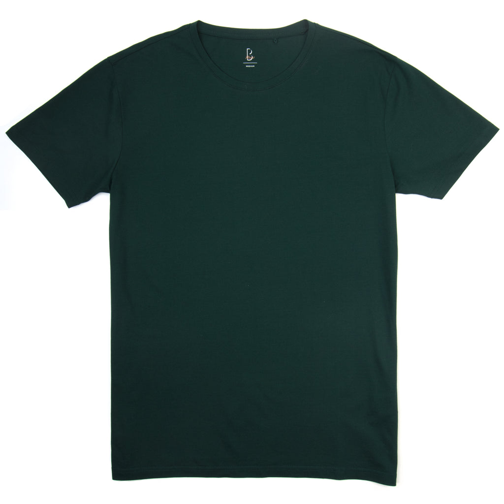 Abyss Green Premium Pique Tee