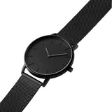 Blackout 40-Stainless Steel Mesh Watch