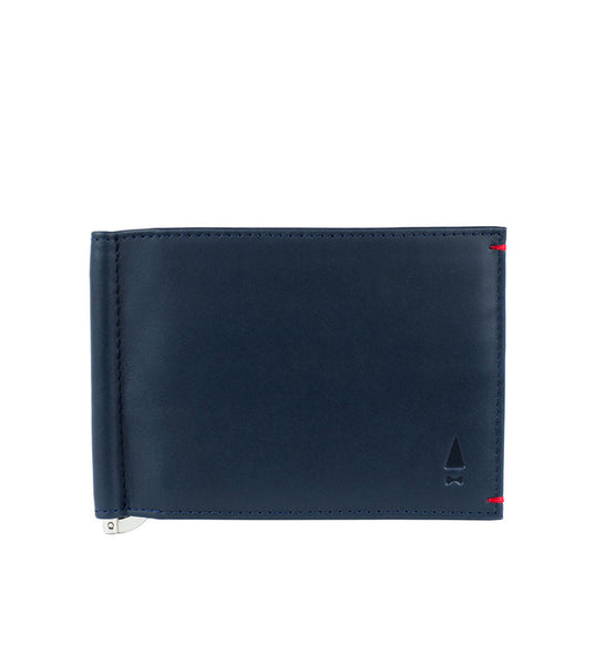 Gnome & Bow Bond Money Clip Billfold Midnight Blue - Men's Online Shopping in Singapore | The Assembly Store - 1