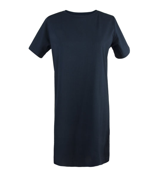 Green Premium Cotton Step Tee Dress