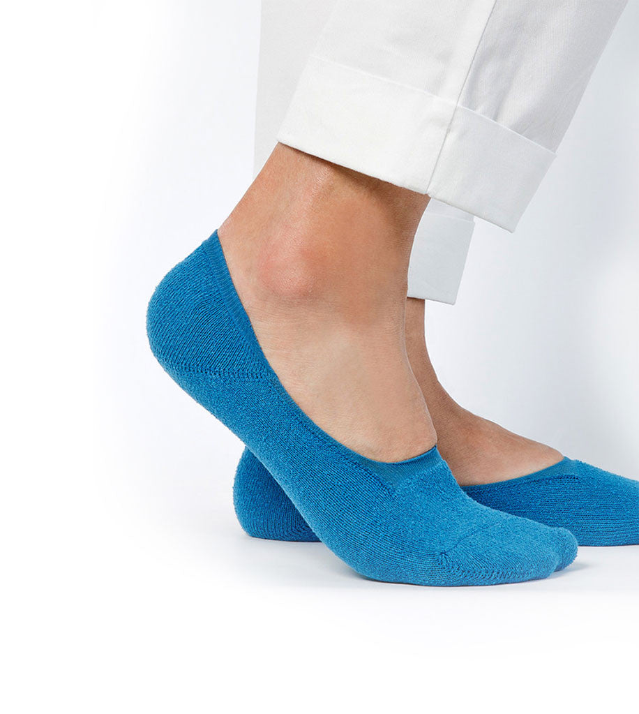 Boucle Invisible Socks Blue