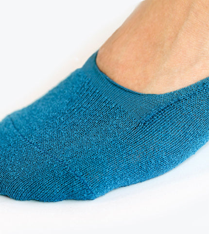 CNYTTAN Boucle Invisible Socks Blue - Men's Online Shopping in Singapore | The Assembly Store - 3