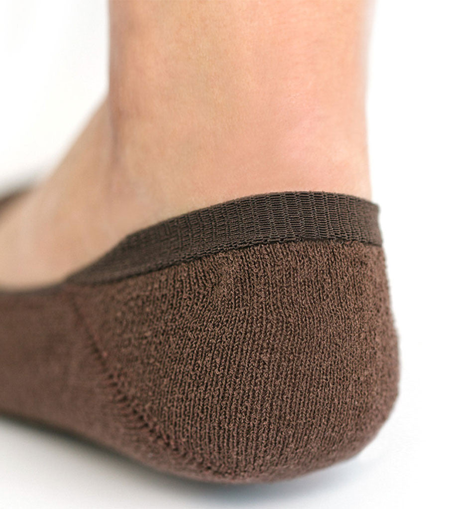 Boucle Invisible Socks Brown