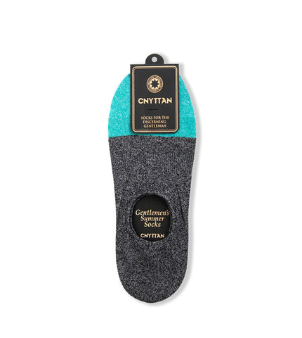 CNYTTAN Boucle Ankle Socks Black Green - Men's Online Shopping in Singapore | The Assembly Store - 1