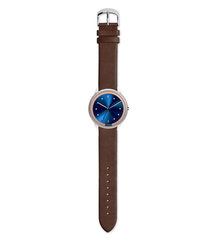 Hypergrand 02 NATO Silver Blue + Classic Brown - Men's Online Shopping in Singapore | The Assembly Store - 2