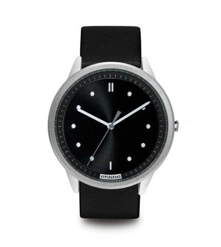 Hypergrand 02 NATO Silver Black + Classic Black - Men's Online Shopping in Singapore | The Assembly Store - 1