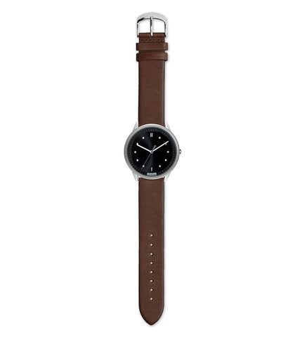 Hypergrand 02 NATO Silver Black + Classic Brown - Men's Online Shopping in Singapore | The Assembly Store - 2