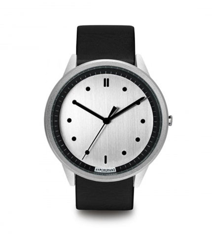 Hypergrand 02 NATO Silver Silver + Classic Black - Men's Online Shopping in Singapore | The Assembly Store - 1