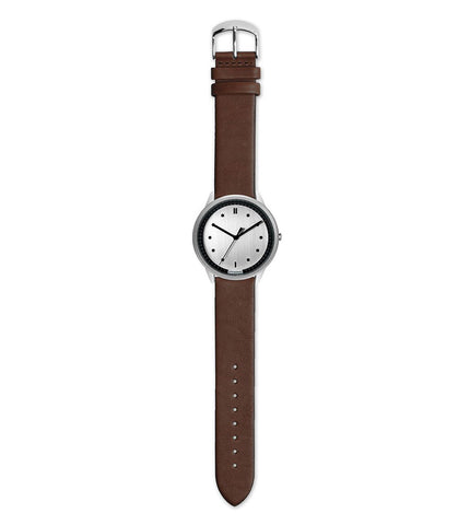 Hypergrand 02 NATO Silver Silver + Classic Brown - Men's Online Shopping in Singapore | The Assembly Store - 2